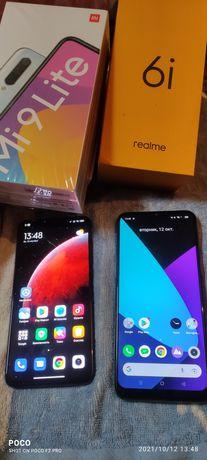 MI 9 lite память 6/64, Realmi 6I, 4/128, Huawei P smart Z, Vivo Y20