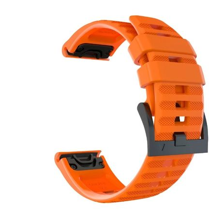 Curea Silicon Garmin Fenix 6X/6X Pro/5X/5X Plus - 26 mm, Quick Release