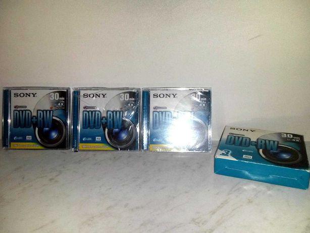 DVD-RW диски многоразовые