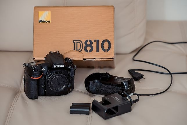 Vand Nikon D810 stare perfecta de functionare