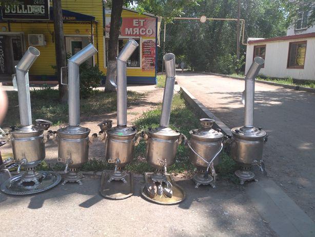 Продам угольно-дровянные самовары