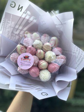 Клубника в Шоколаде   вкусные букеты  Цветы