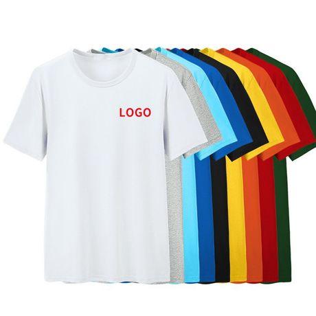 Однотонные футболки оптом . Хб