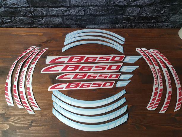 Kit stickere roti Honda cb 650 f 2018 rim stripes