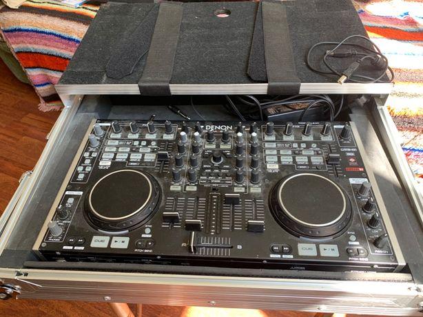 Mixer DJ Denon DN-MC6000 + Flight Case Magma
