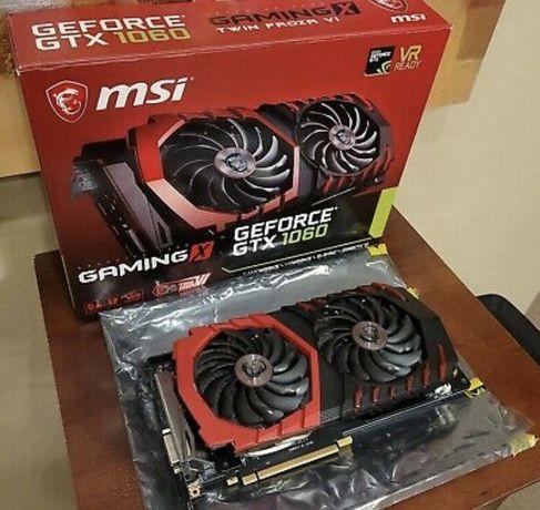 Видеокарта msi 1060 6 gb gaming x