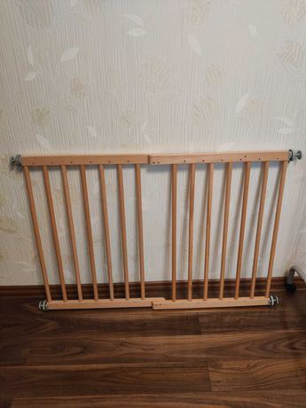Grilaj reglabil/Poarta siguranta copii din lemn