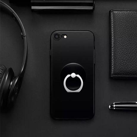 Suport Smartphone inel telefon negru nou 360 pisica rotund patrat