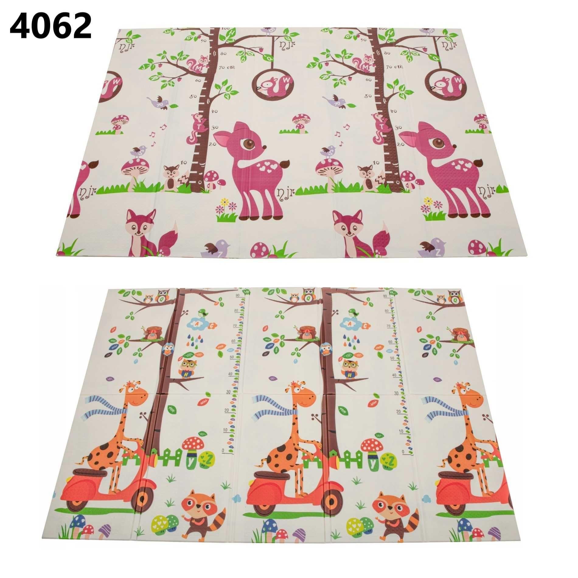 Covoras de joaca termic copii 200 x 150 cm, pliabil, doua fete