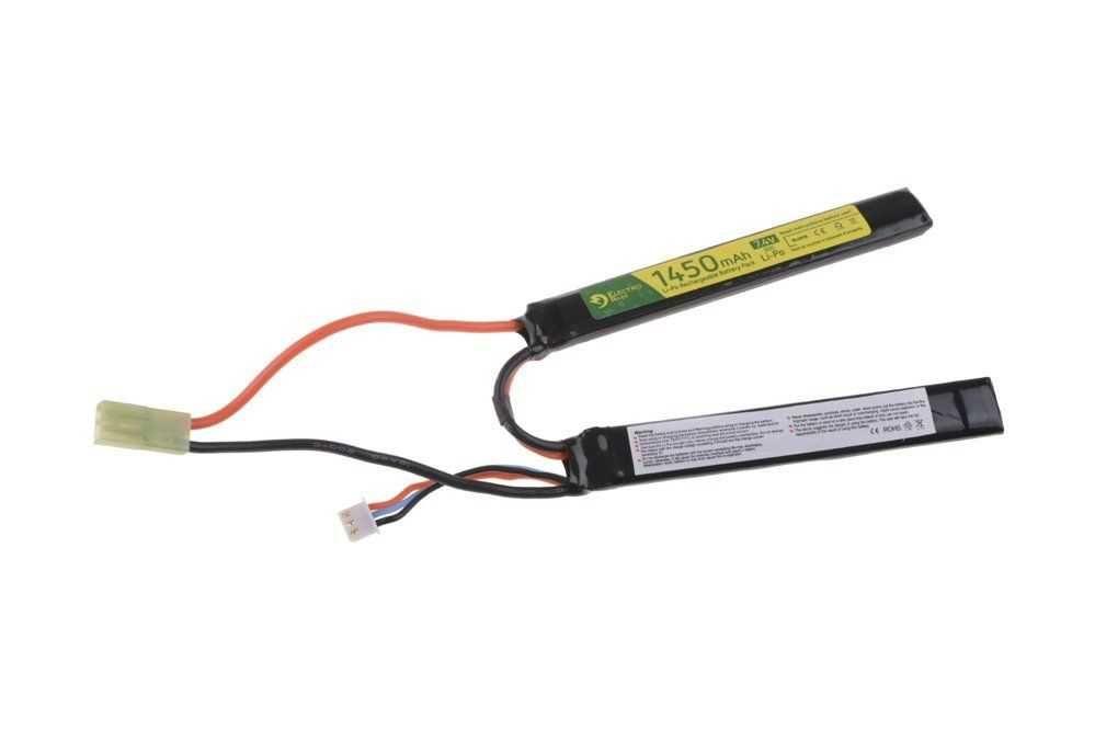 Baterie LiPo 7,4V 1450mAh 30C cu 2 celule pentru PUSTI AEG airsoft