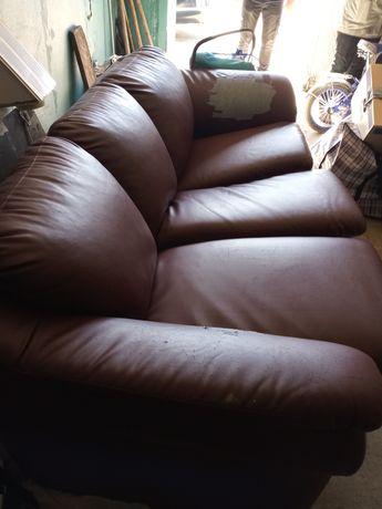 Продам диван 30 тыщ коже зам