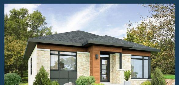 Сглобяеми къщи - проект 112м2. Етап: Груб Строеж. Преместваеми къщи