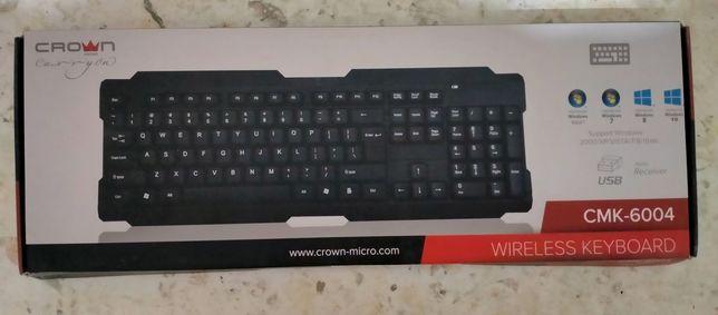 СПЕШИТЕ КУПИТЬ!!! Безпроводная клавиатура crown CMK-6004