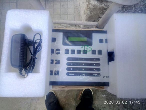 Продава се ptz контролер 3D joystick CCTV Keyboard Controllers