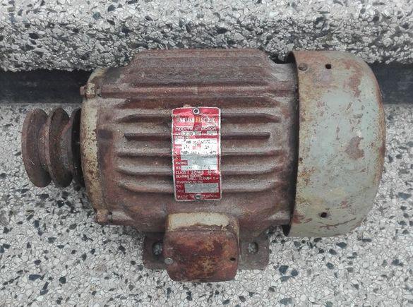 Трифазен електромотор,електродвигател.
