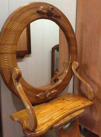 Зеркала ручной работы с резьбой по дереву