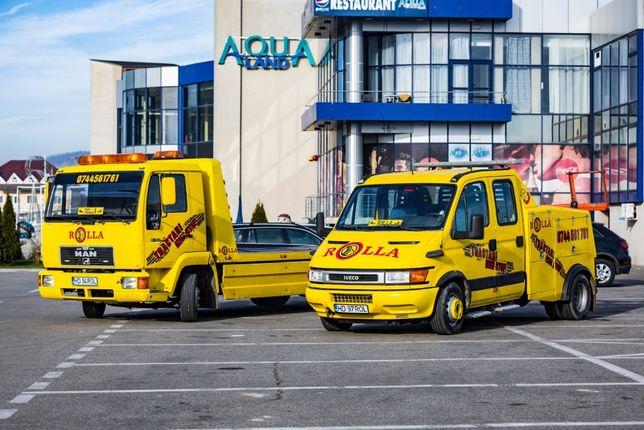 tractari auto NON STOP, service mobil, vulcanizare mobila
