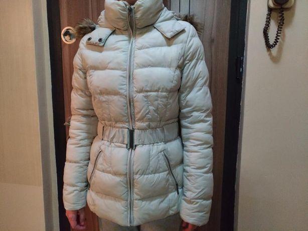 Geaca Femei CAMAIEU - Bej haina de iarna-toamna femeie dama marimea 36