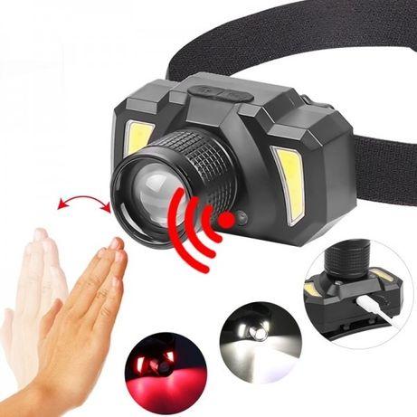 LED Фенер Челник със сензор за движение COB диод