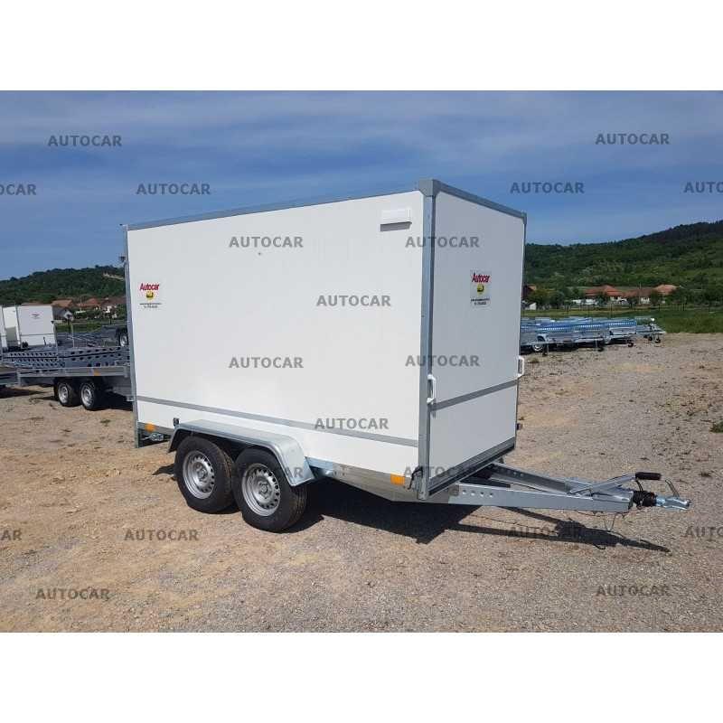 Remorca carosata furgon inchisa  3050x1510x1800 de 2700kg