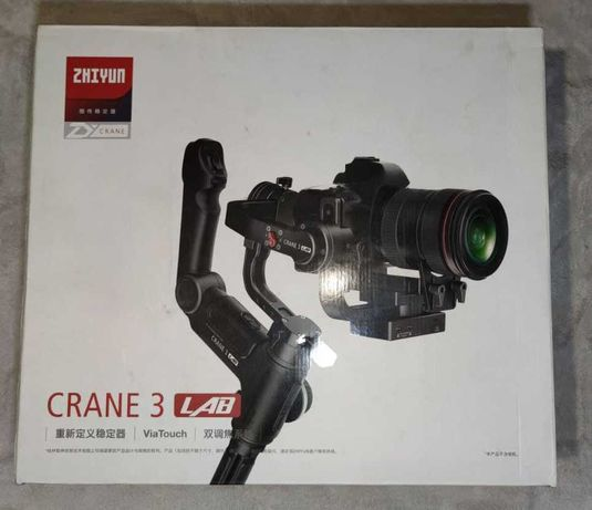 Zhiyun crane 3 lab стабилизатор для видео