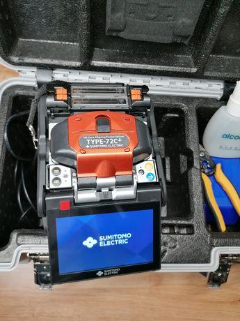Sumitomo T72c + aparate sudura fibra optica