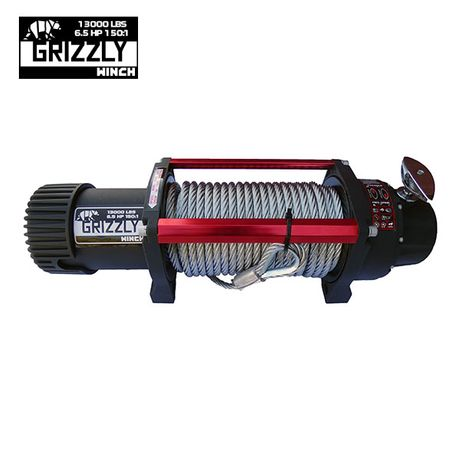 Troliu Grizzly Winch 13000lbs (5897kg) cablu de otel