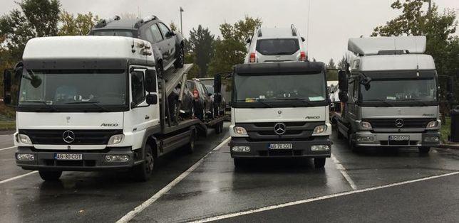 Transport / Tractari auto ITALIA- ROMANIA