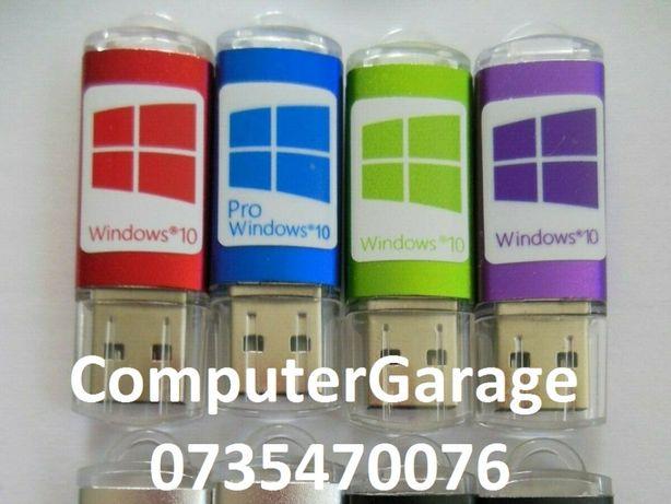 Stick USB cu Windows 10 HOME cu Licenta Retail, Livrare oriunde curier