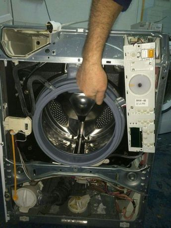 Repar mașini de spălat deplasare, constatare gratuita