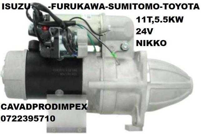 Electromotor NIKKO-ISUZU Komatsu,Sumitomo,Furukawa