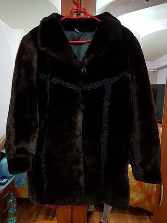 Palton dama, blana originala