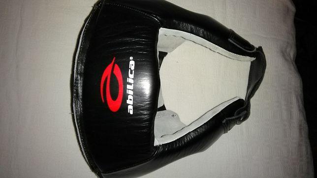 Casca protectie piele. originala, noua, arte martiale box full contact