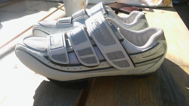 Pantofi ciclism bicicletă Shimano SH-WR6O carbon SPDSL mărimea 41
