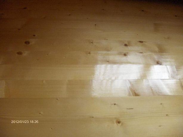 Dusumea din lemn ,lambriu semirotund ,tip american,normal