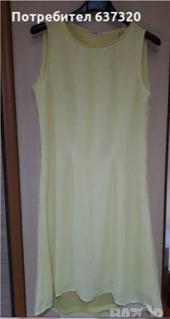 Лятна жълта рокля