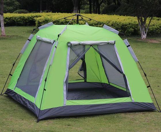 Палатка шатер Высокая автоматическая беседка с полом на 4-5 человек