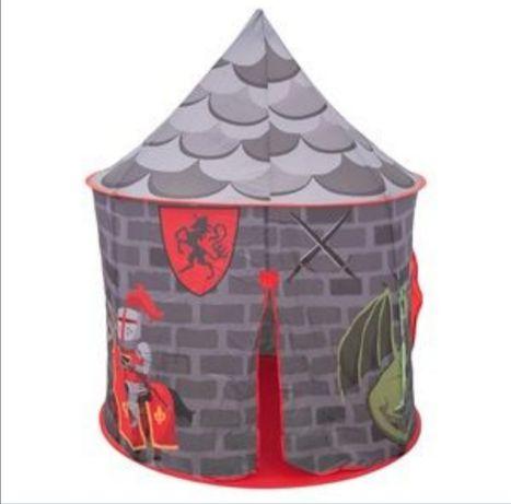 Палатка  замък  рицарски къщичка къща детска