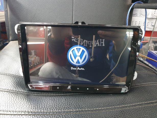 Штатное Головное Устройство Автомагнитолы на Volkswagen Passat PoLo