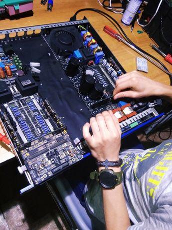 Ремонт музыкального оборудования и инструментов