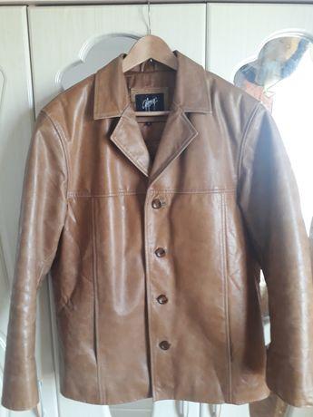 Куртка кожаная пиджак кожанный кожа натуральная