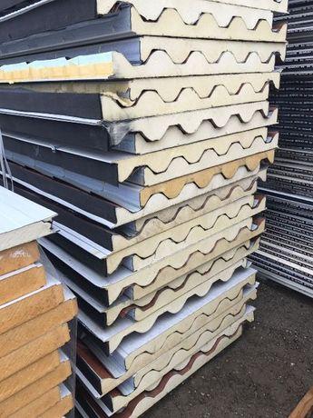 Panouri Sandwich Noi Termoizolante acoperis si perete lungimi diferite