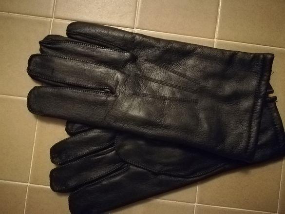Мъжки черни ръкавици