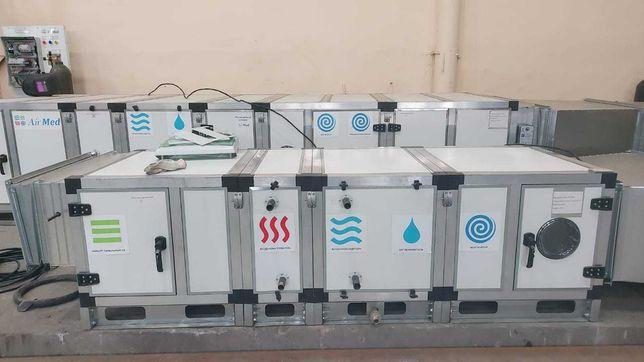 Приточные и приточно-вытяжные установки для вентиляции  в Алматы