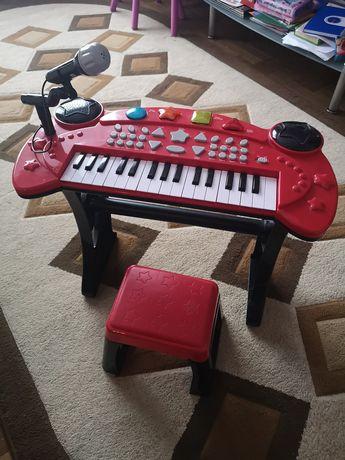 Pianina cu microfon pt copii