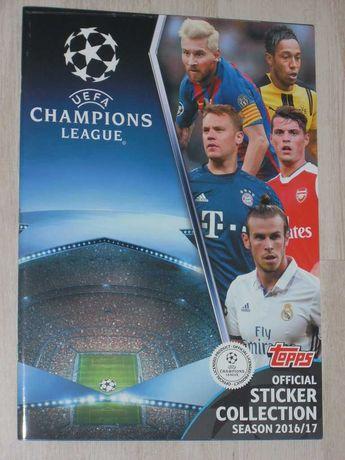 Oфициален стикер албум Шампионска лига 2016/17 UEFA Champions League