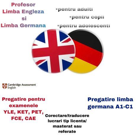 Meditații/Traduceri Engleza-Germana
