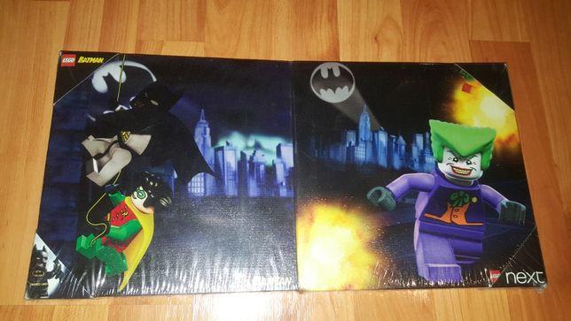 Tablou Canvas Print Batman + Joker - Set 2 bucati