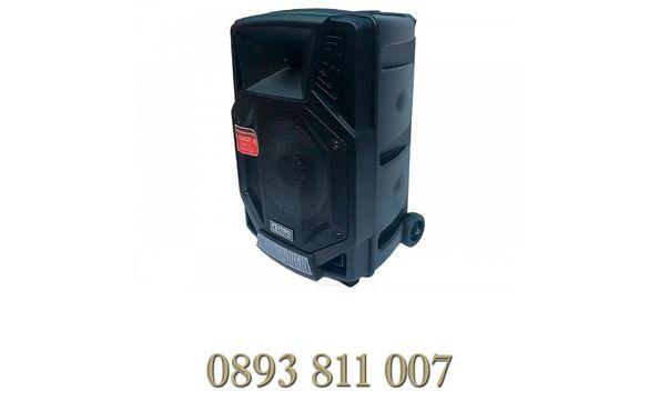 400в модел ES-85 Караоке Активна Колона с Bluetooth,USB,микрофон тонко