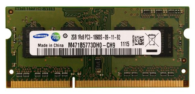Memorii RAM 2GB DDR3 1333Mhz PC3-10600S Laptop SO-DIMM NOI!